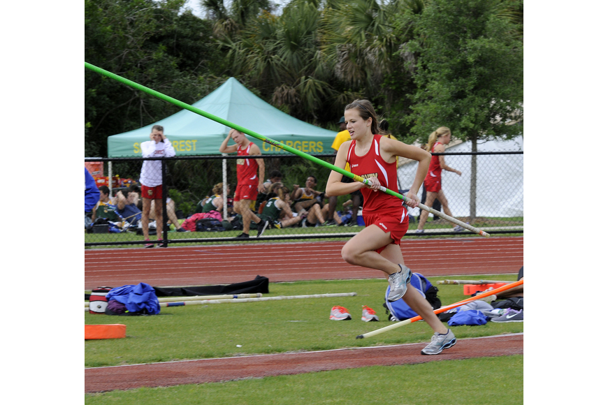 Cardinal Mooney junior Ali Schweers finished fifth in the pole vault.