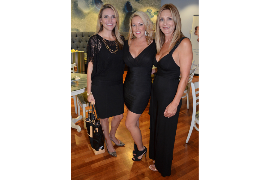 Camille Radcliff, Jana Marie Lyons and Shelley Kyser