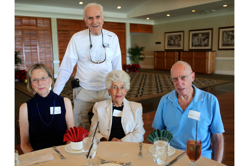 Helene Morgenstern and Dr. Arthur Ancowitz with Enid and Norman Fleishman