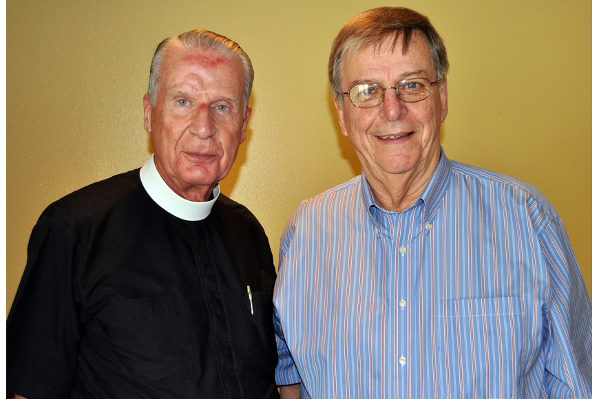 Rev. Ralph McGimpsey and Harry Davant