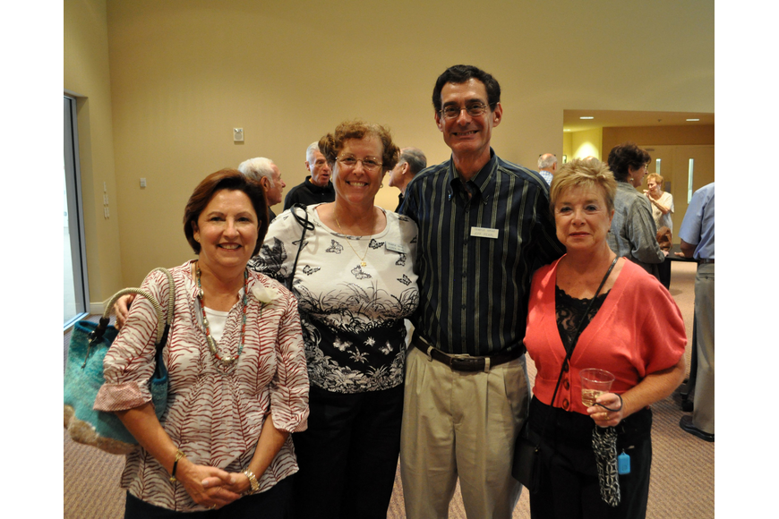 Joyce Rosenberg, Lauren and Jeff Pearl and Judy Feldman