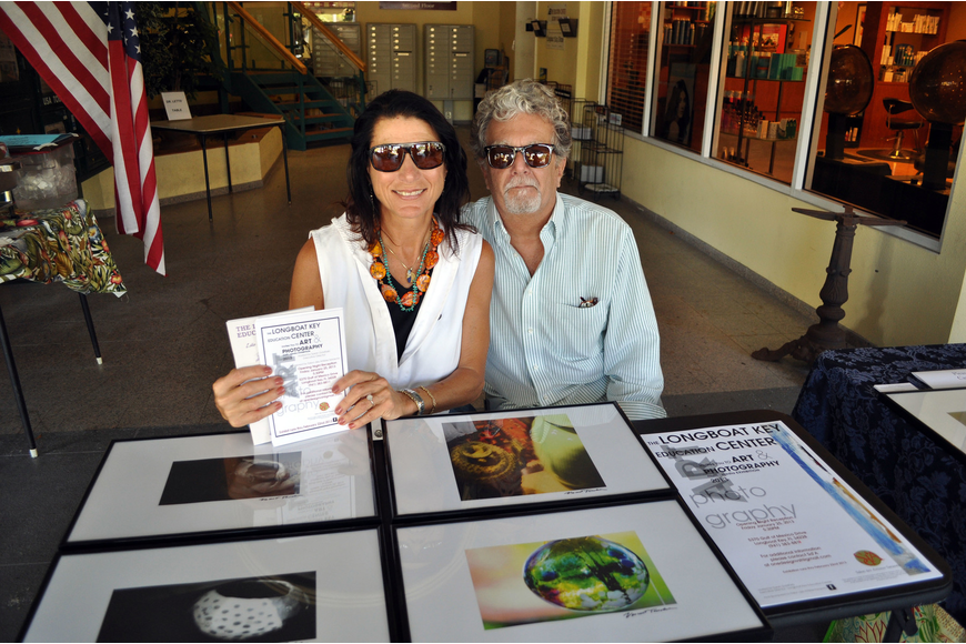 Michele D'Ambrosio and Vincet Taschetti of the Longboat Key Education Center