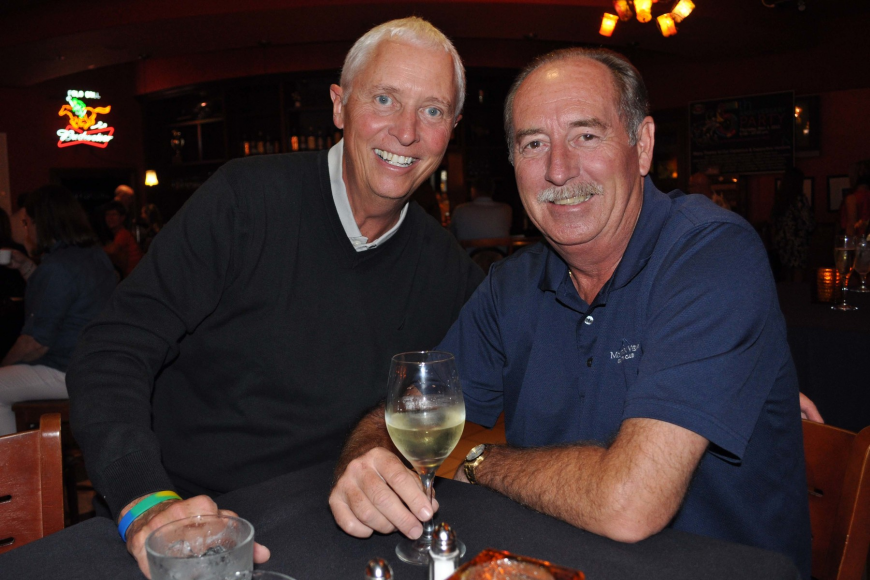 Gordon Manning caught up with Rick Ayers over drinks.