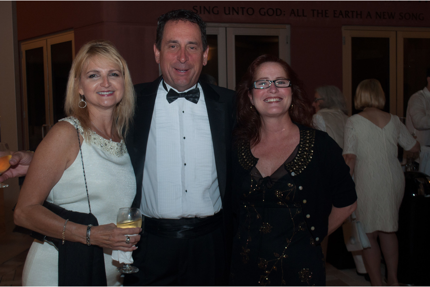 Julie Hunnel, Eric Peters and Michelle Stratton