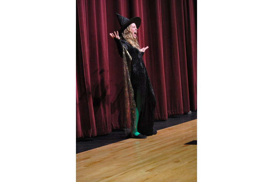 MaKenna Chandler, the Wicked Witch, had one last cackle.