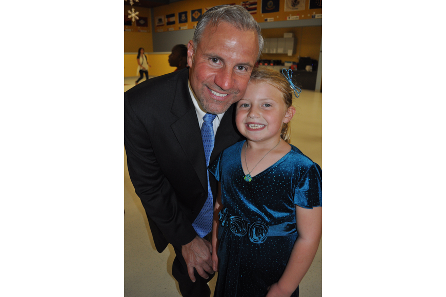 Frank Graczyk and his daughter Joanna, 6, loved their first father/daughter dance.