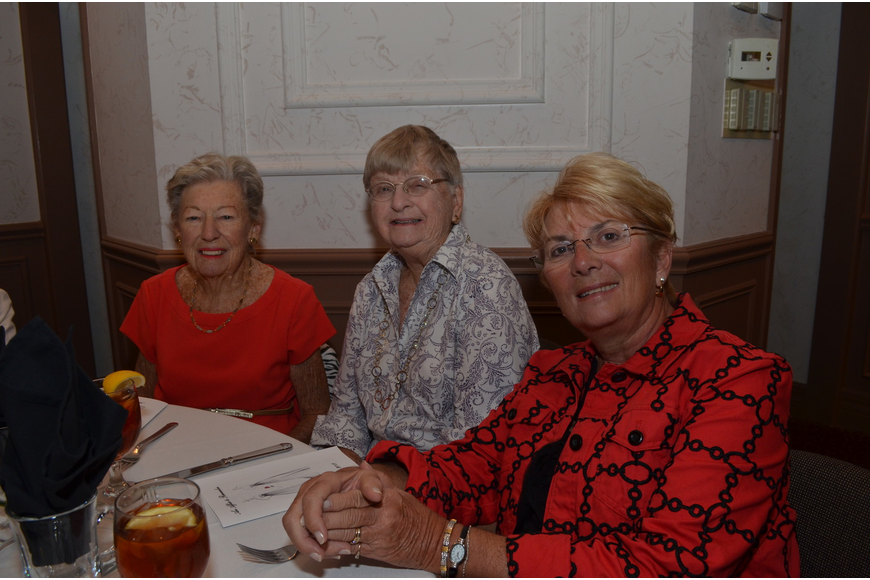 Mary Steere, Joan Muldoon and Nancy Augsburger
