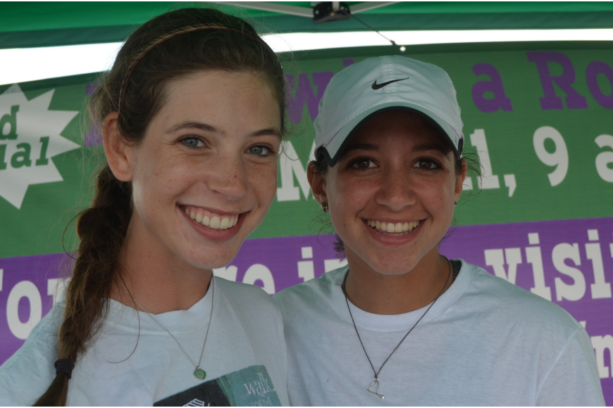 Sarasota Scullers rowers Natalie Schulte and Sammy Robbins