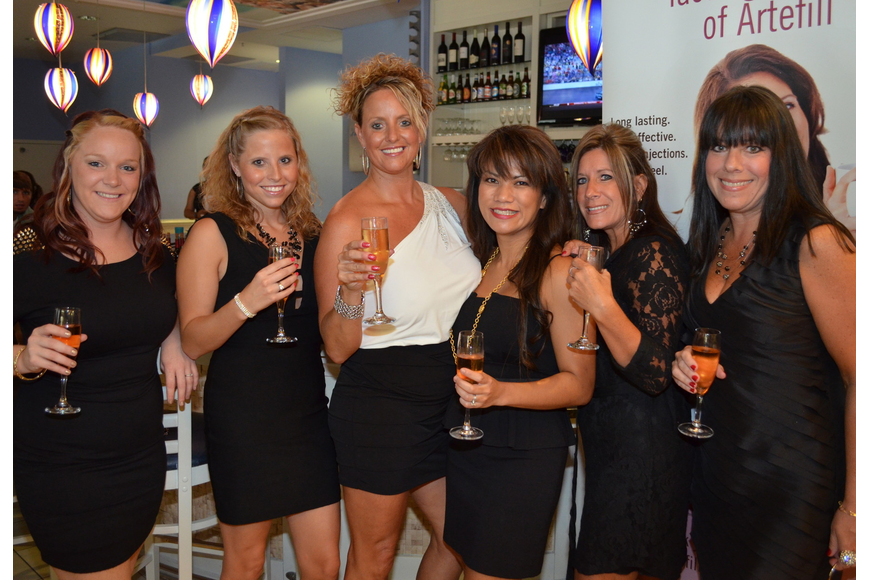Hayley Parker, Kassie Batterson, Veronica Overle, Dr. Melinda Lacerna, Tracy Johnson and Audrey McMullen