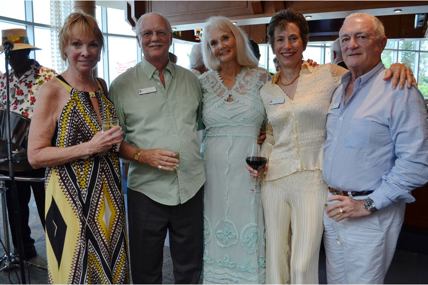 Danee Barnett, Phil Couture, Dana Magee and Ruth and Michael Harshman