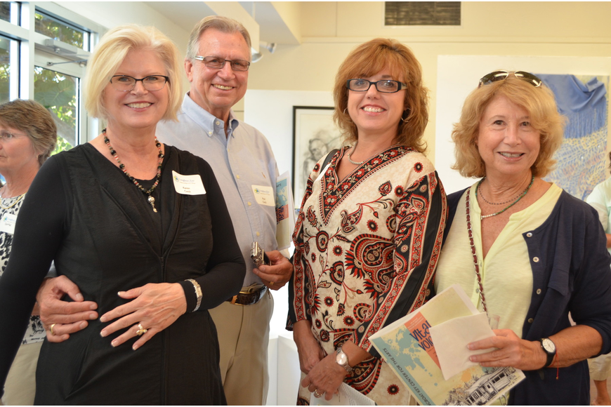 Karen and Paul Geck with Wanda Raible and Ann Roth