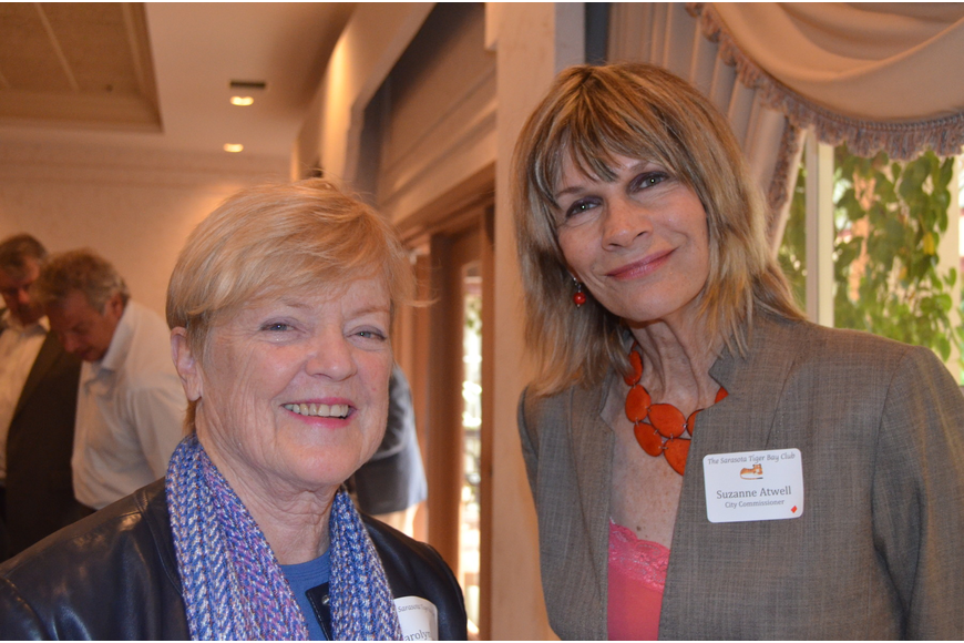 Carolyn Johnson and Suzanne Atwell