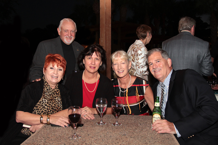 Mel and Karen Klein, Rae Dowling, Michele and Rob Graf, Florida Power & Light Co., at the SCF Foundation Inc.'s Evening Under the Stars Inauguration Concert.
