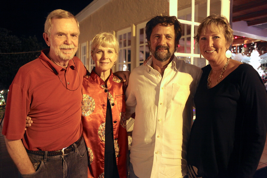 Rusty Chinnis and Christine Killeen with Mark and Patty McBride