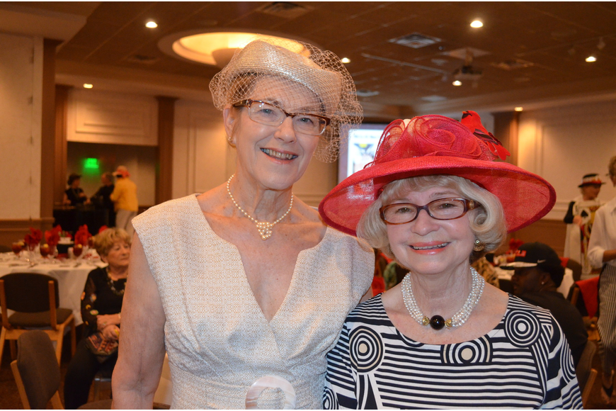 Pam Langlois and Barbara Marotto