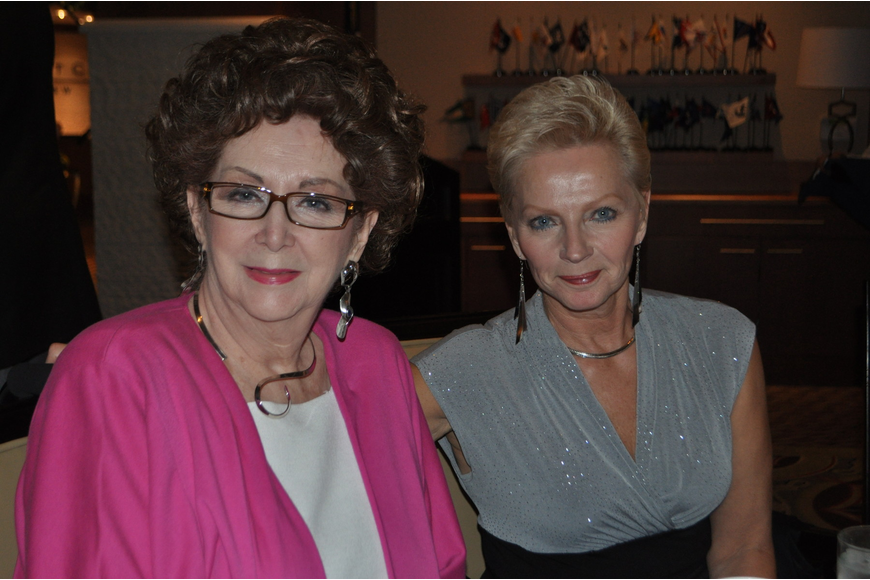 Sharon Stewart and Karen Gerst