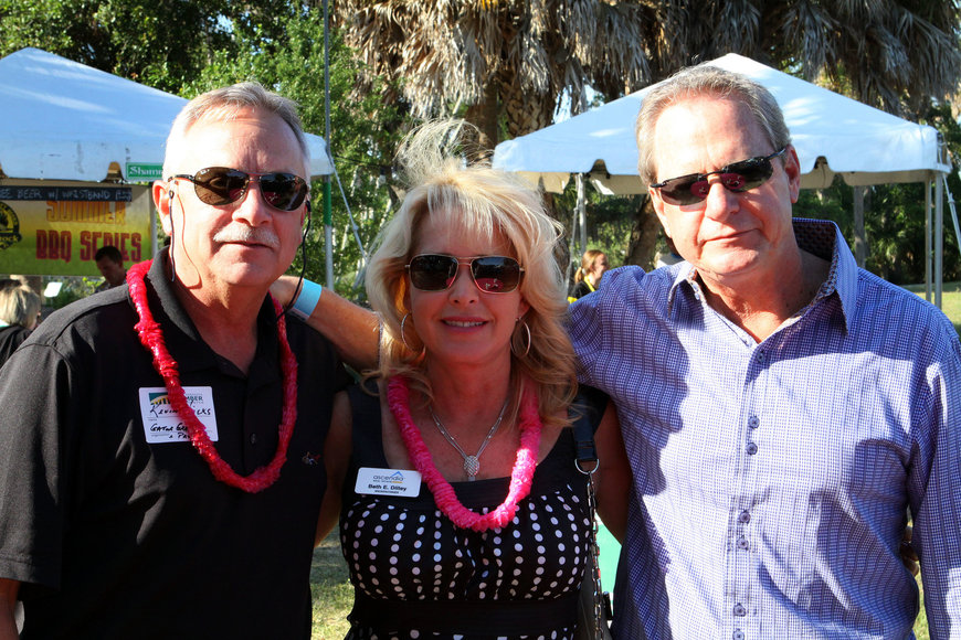 Kevin Hicks, Beth Dilley and Andy Olwert