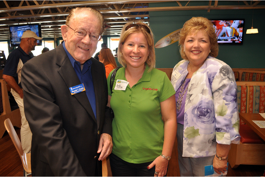 Ronald T. Smith, Becky Brantner and Sharon Viner