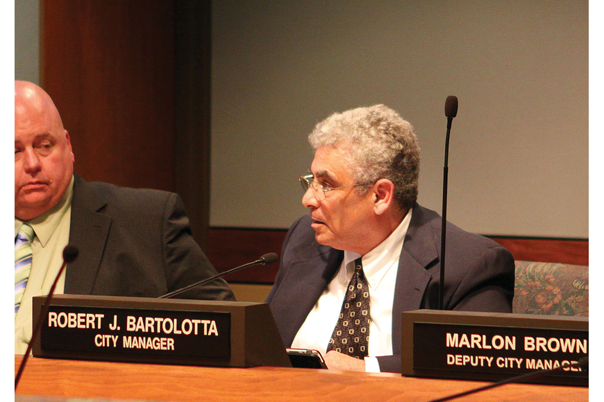 City Manager Bob Bartolotta agreed to resign during a commission meeting Tuesday, January 17, at City Hall.