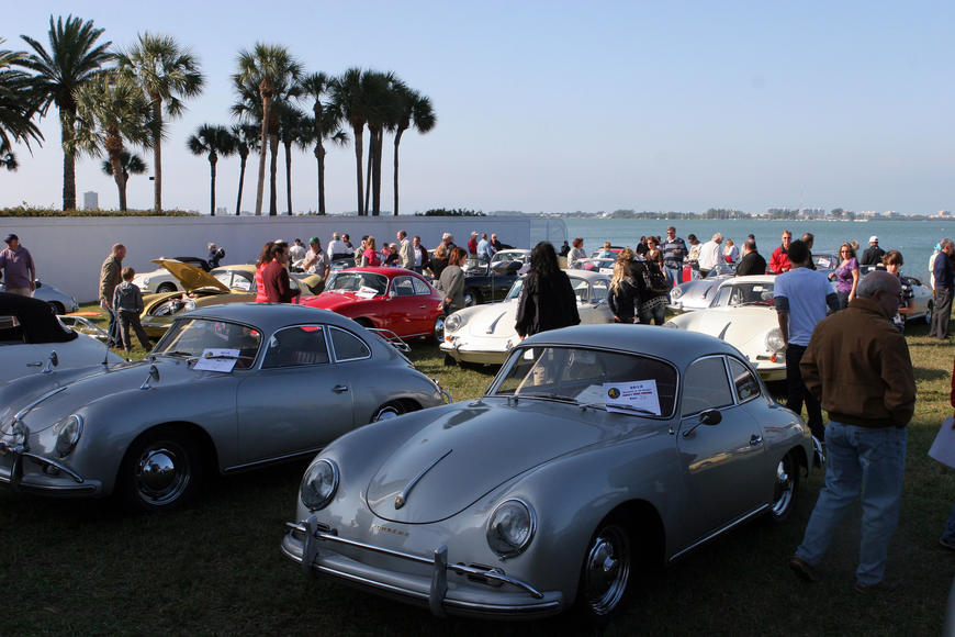 There were 54 Porsche Typ. 356's on display Saturday, Jan. 5, for the 6th annual Gathering of the Faithful 2013.