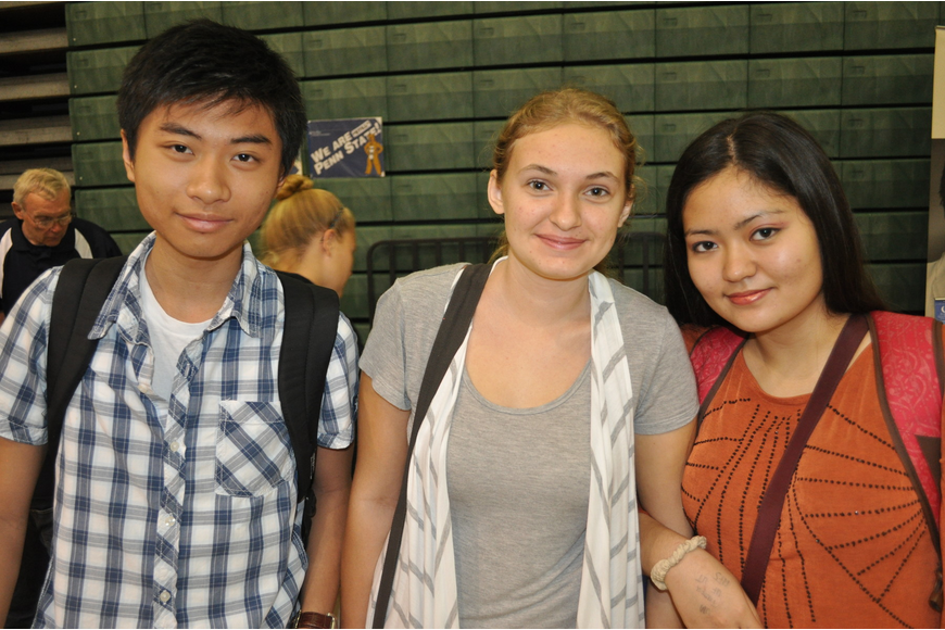 Joe Wong, Kristen Moreno and Aiko Sturgis want to be a psychiatrist, veterinarian and cardiologist, respectively.