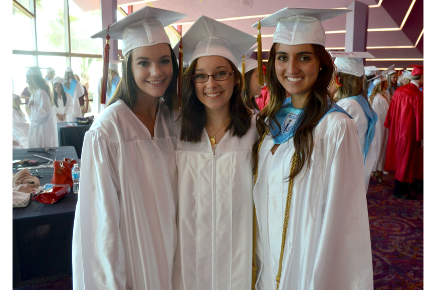 Catherine Ivey, Alyssa Magner and Lorena Abad