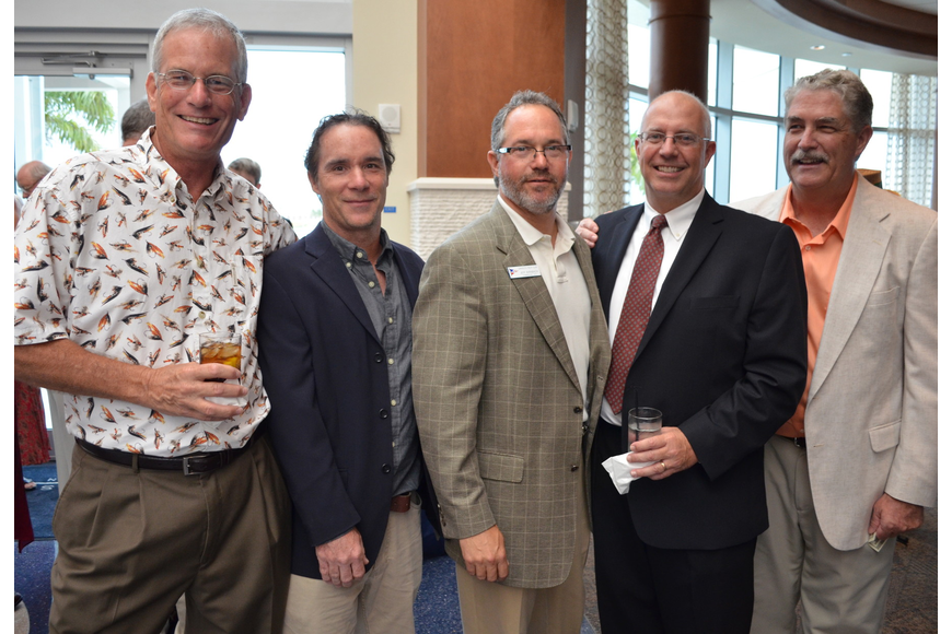 Dr. Jay Leverone, Curtis Hemmel, Jeff Birnbach, Dr. Larry Stults and John Ryan