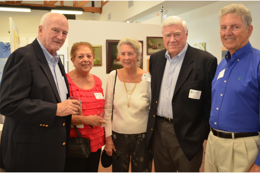 Sam and Carol Gibbon with Mary and Jack Nolan and Ron Johnson