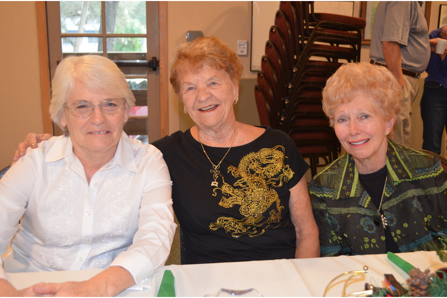 Sharon Taylor, Marilyn Lundquist and Janet Wick