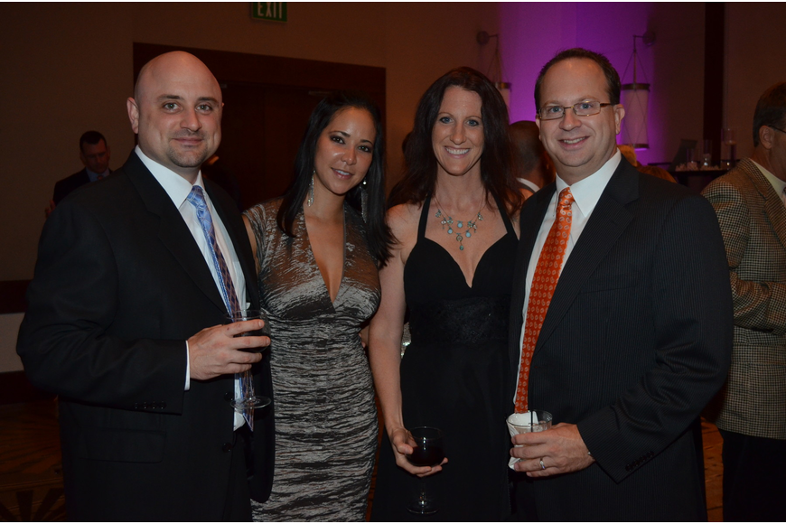 Brian Porter and Sarah DaCosta with Christine and Robert Sket