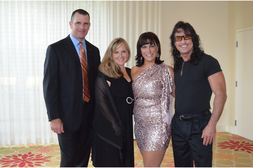 Jamie and Lyn Purmort with Anne Weintraub and Michael Israel