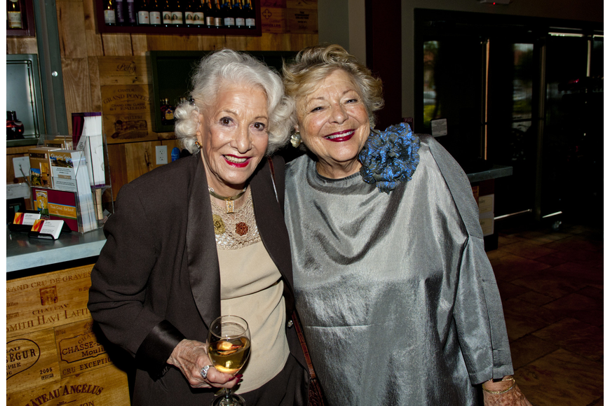 Lillian Richman and Valerie Terris