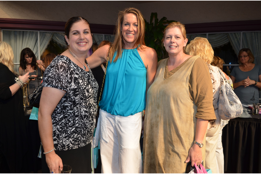 Christine Robinson, Michelle Reilly and Lisa Beebe