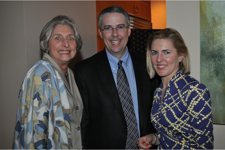 Michael Saunders, Joe McKenna and Anne Igelbrink of Christie's New York