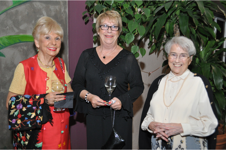 Shirley Scullion, Margaret Drew and Carol Elbing