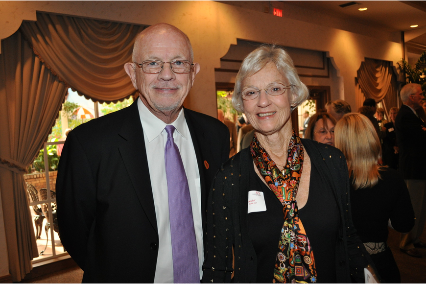 Honoree Paul Welch and Sue Michel