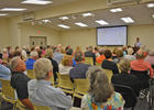 More than 120 residents attended LBK North's first meeting of 2017.