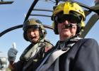 On his 80th birthday Feb. 27, Ret. Brig. Gen. John Casey took to the air with fellow pilot Nigel Milligan.