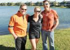Tommy Klauber, Amy Whittington and George Kruse of Atlas Endurance, the new Lakewood Ranch multisport club that will hold its membership drive March 6
